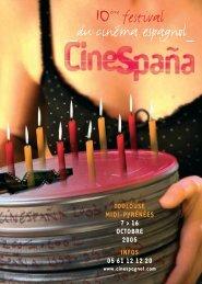 le programme (pdf) - Festival du cinéma espagnol