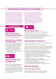 Grandi benefit per i donatori Avis e le loro ... - Avis Comunale Milano
