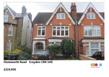 Chatsworth Road Croydon CR0 1HE £224,950 - Sequence