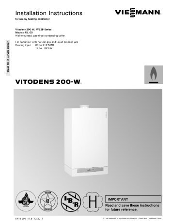 Field service calls sugge vitodens 200 w installation instructions viessmann asfbconference2016 Image collections