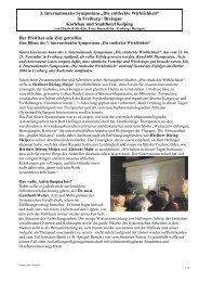 "3. Internationales Symposium ""Die entdeckte ... - Claro Karlsruhe"