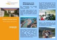 German Courses Passau Sommer 2011 Willkommen an der ...