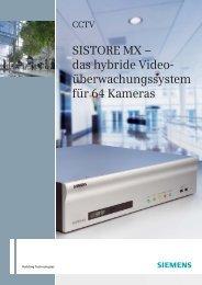 SISTORE MX – das hybride Video ... - Vision Inside