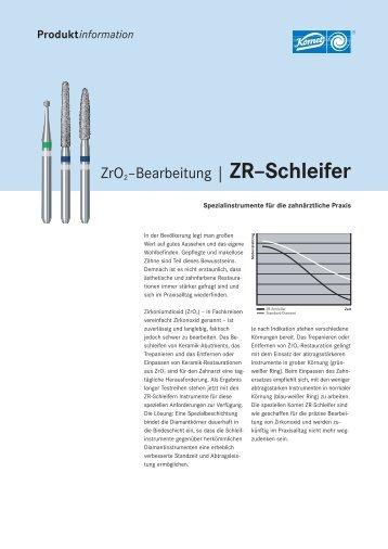 | ZR–Schleifer - Komet