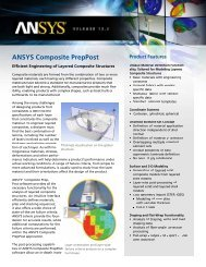 ANSYS Composite PrepPost - CADFEM US