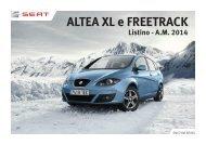 modello AlTeA Xl - SEAT Italia
