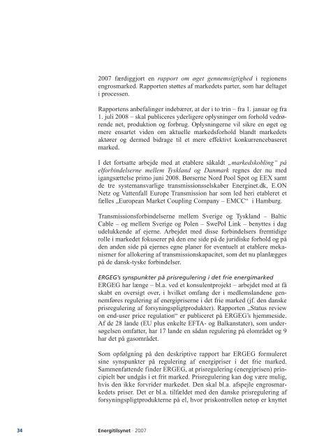 Årsberetning 2007.pdf - Energitilsynet
