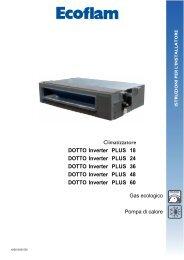 Manuale installatore DOTTO INVERTER DC PLUS - Elco Ecoflam