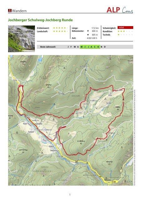 Wandern Jochberger Schulweg-Jochberg Runde - Schneizlreuth