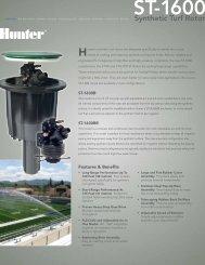 ST-1600 - Hunter Industries