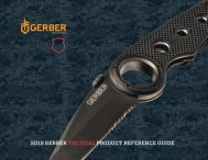 2012 gerber tactical product reference guide - Public Safety ...