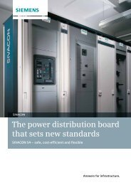 The power distribution board that sets new standards - Siemens
