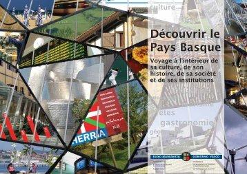 Découvrir le Pays Basque (pdf, 4,3Mb) - Kultura Saila - Euskadi.net