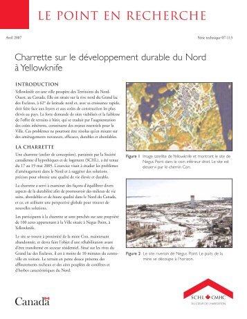 Charrette sur le développement durable du Nord à - SCHL