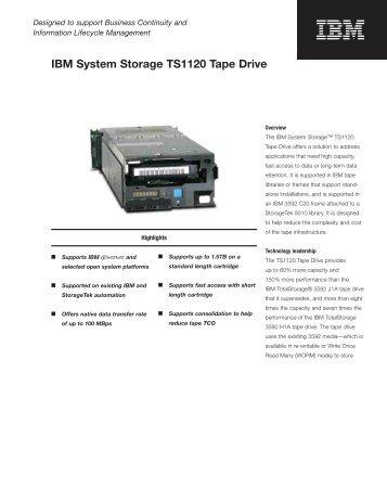 IBM 3590 Model H11 Tape Library