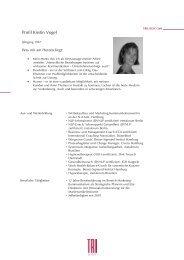 Profil Kirstin Vogel - trilogie