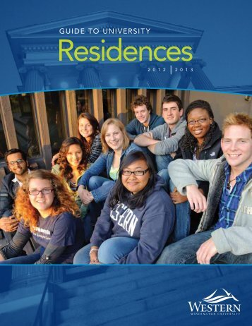GUIDE TO UNIVERSITY - Office of University Residences - Western ...