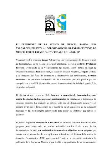 Premio ANEFP.pdf - Colegio Oficial de Farmacéuticos de la Región ...