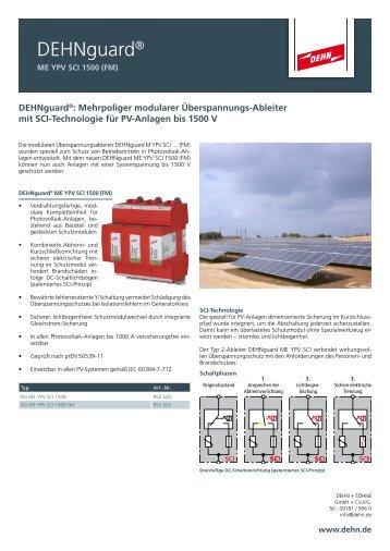 Dehnguard® - Dehn + Söhne Blitzschutzsysteme