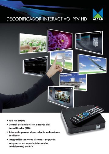 set top box interactivo - Alcad