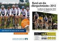Flyer mit Teilnehmer und Startzeiten - TSG 1847 Leutkirch eV