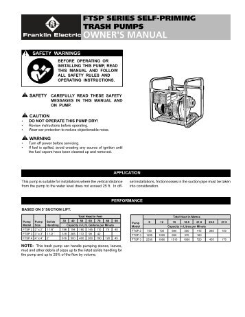 little giant big john submersible sump pump owners manual rh yumpu com giant tcr owners manual giant owners manual