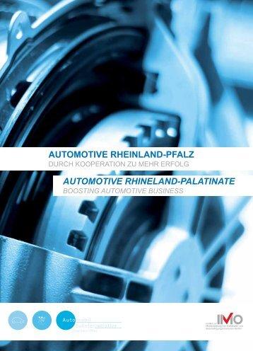 Automotive RhinelAnd-PAlAtinAte Automotive RheinlAnd-PfAlz