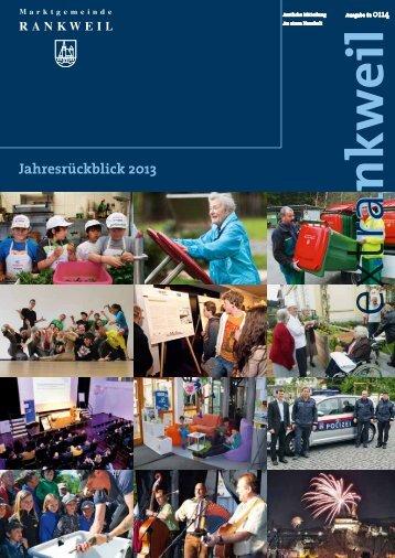 extRankweil Jänner 2014 - Marktgemeinde Rankweil
