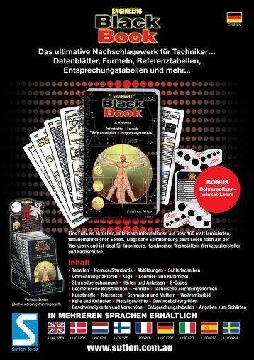 Black Book - Sutton Tools