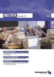 IND|TRYK November '05 NR 14 - Københavns Tekniske Skole