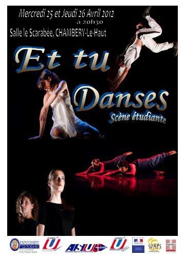 dossier Et tu Danses Nationales.rtf