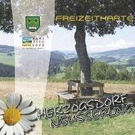 freizeitkarte - Herzogsdorf