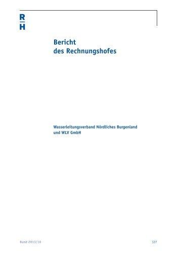 Wasserleitungsverband Nördliches Burgenland und WLV GmbH