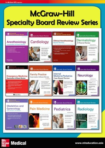 MH Specialty Board Review series - McGraw-Hill Books