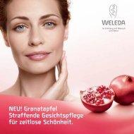 Granatapfel Straffende Gesichtspflege für zeitlose Schönheit. - Weleda