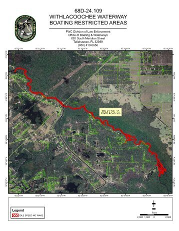 68D-24.109 WITHLACOOCHEE WATERWAY BOATING ...