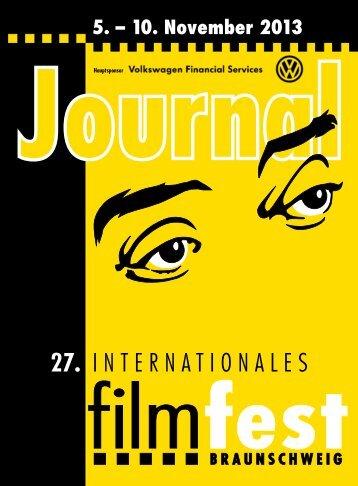 Journal 2013 - Filmfest Braunschweig