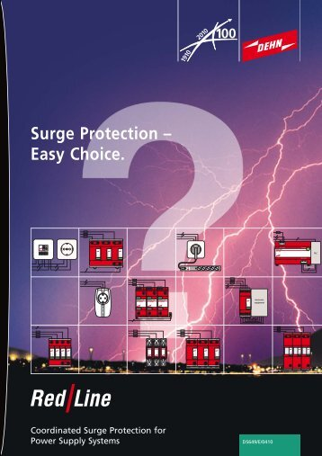 Surge Protection – Easy Choice. - Dehn + Söhne Blitzschutzsysteme