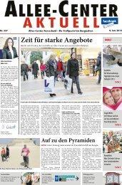 Nr. 357 9. Jan. 2013 Zeit Für Starke - Allee Center Remscheid