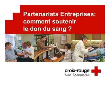Présentation Don du Sang_FR - Croix-Rouge luxembourgeoise