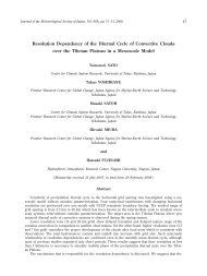 Resolution Dependency of the Diurnal Cycle of Convective Clouds ...