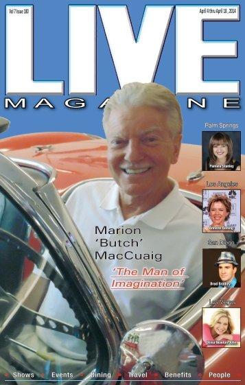 LIVE Magazine Vol 7, Issue #180 April 4th thru April 18