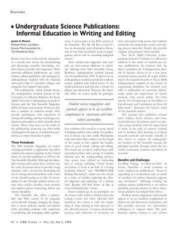 informal essay on education