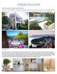 Villa in Cavtat, Dubrovnik Riviera - CroatiaGems
