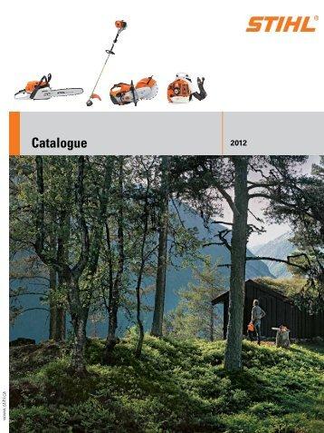 Stihl Catalogue here - C & T Rentals & Sales Ltd