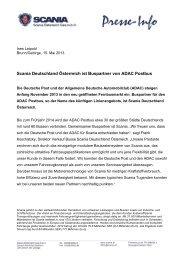Annette Plankensteiner - Scania Österreich Ges.mbH