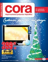 Catalog CORA Cadouri pentru cei dragi 29 noiembrie - TotulRedus.ro