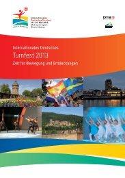 Turnfest 2013 — Zeit für Bewegung und ... - Das ist Turnfest