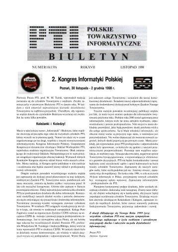 pdf - 283 KB - Instytut Informatyki Politechniki Poznańskiej - Poznań