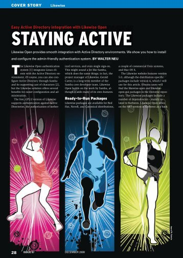 STAYING ACTIVE - Linux Magazine